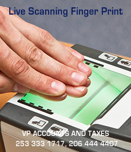 Live Scanning Finger Print Services Consultants in Kent USA